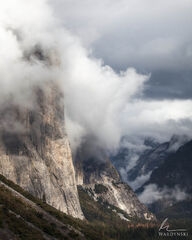 Lifting Clouds Throughout Yosemite Valley