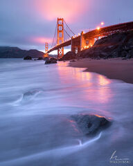 Evening and the Golden Gate
