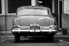 horizontal, black and white, b&w, monochrome, old car