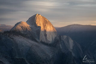Shifting Clouds and Warm Rays Over Yosemite