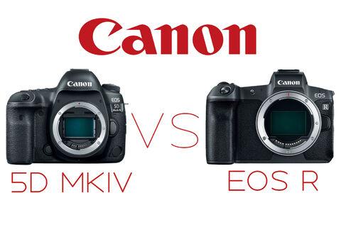 Canon 5d IV vs EOS R