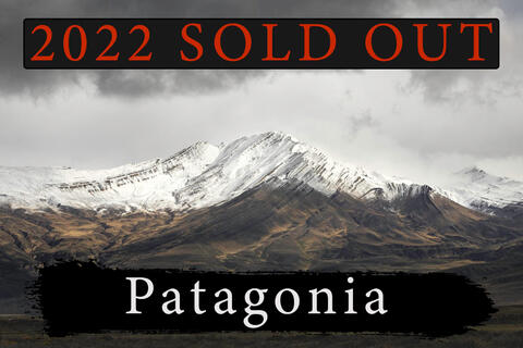 Patagonia Photography Workshop April 5th 2022 - SOLD OUT!