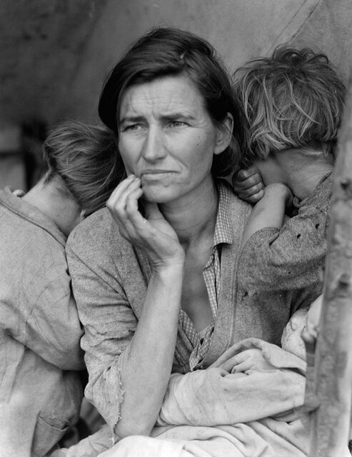 Dorthea-Lang-Migrant-Mother-1936