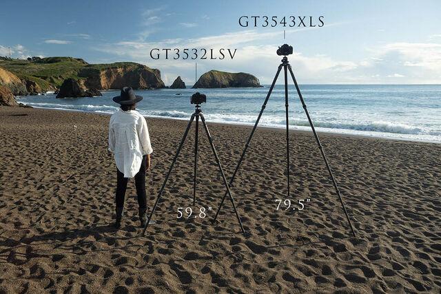 Gitzo GT3532LSV vs GT3543XLS tripod