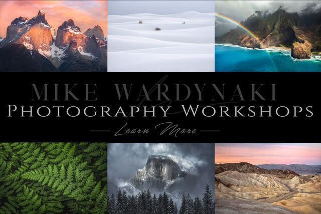 The best Landscape photography workshops