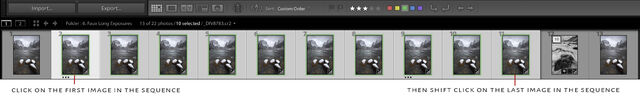 How to sync photos in lightroom