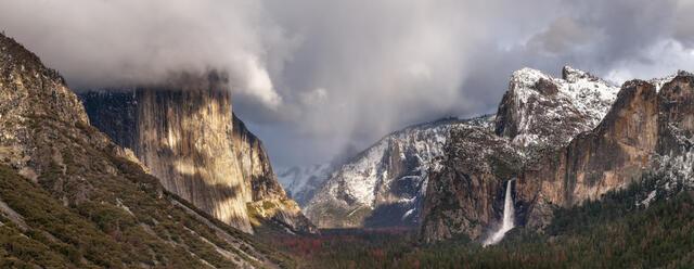 Panorama-photography-of-Yosemite-Valley