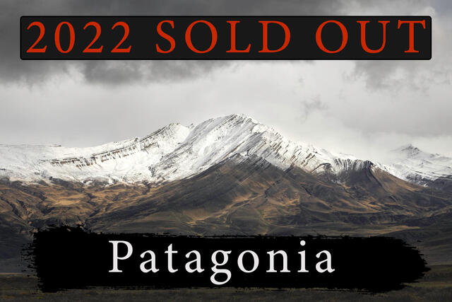 Patagonia photography workshop sold out 2022