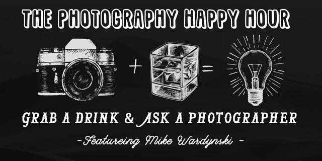 The Photography Happy Hour Banner