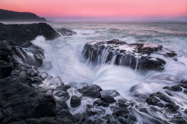 Ocean Bath Sunrise