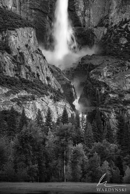 Upper and Middle Yosemite Falls