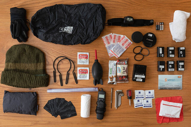 Essential landscape photography gear