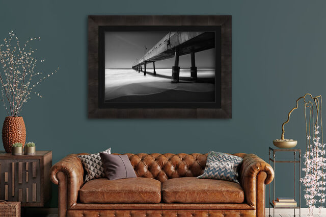Luxury Fine Art Landscape photography on grey wall