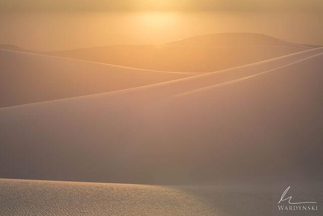 Golden Glow and Gypsum Dunes