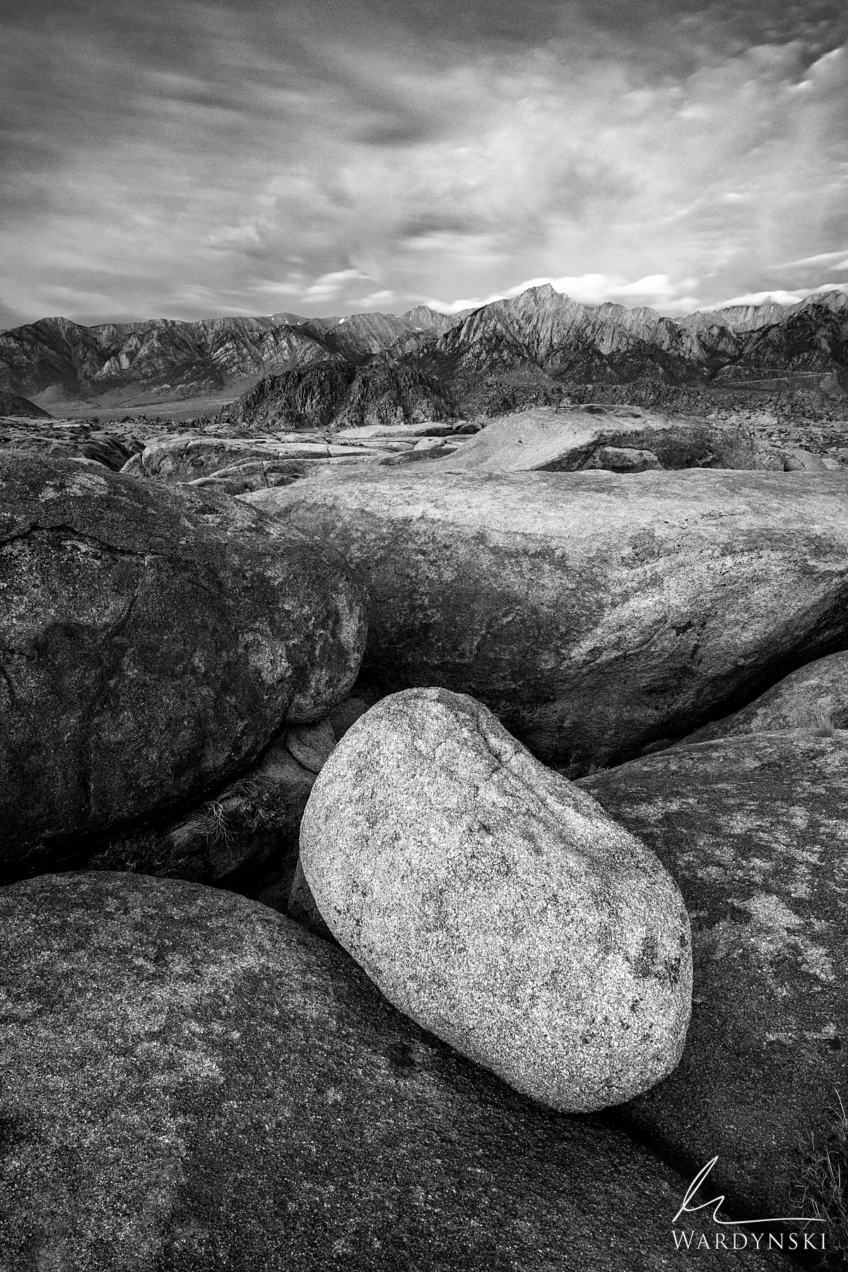 Fine Art Print - Limited Edition of 50  The Alabama Hills in Eastern Califonia are rugged, unforgiving, and down right beautiful...
