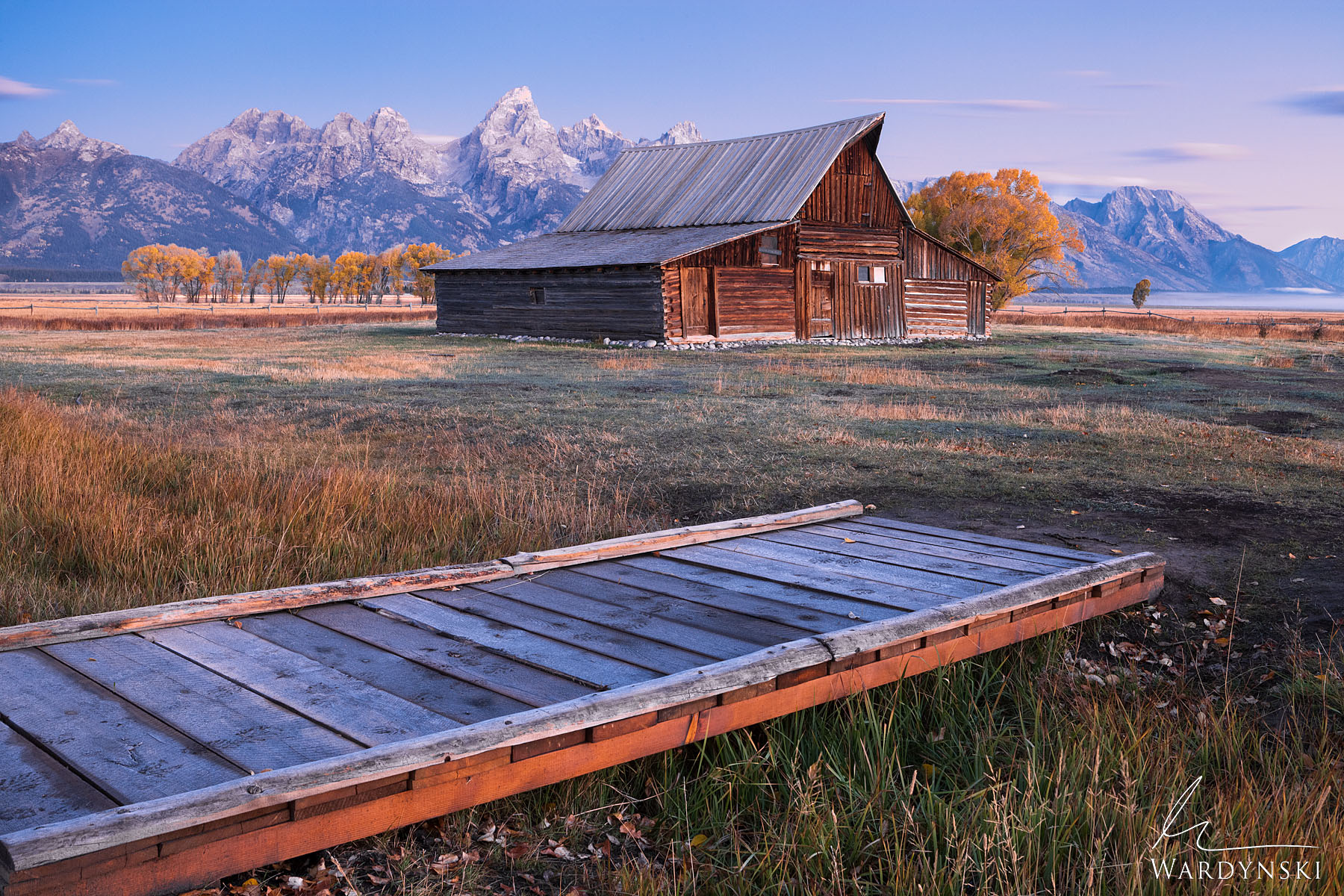 Fine Art Print | Limited Edition of 25  The T.A. Moulton Barn is a historic feature in Grand Teton National Park and has been...