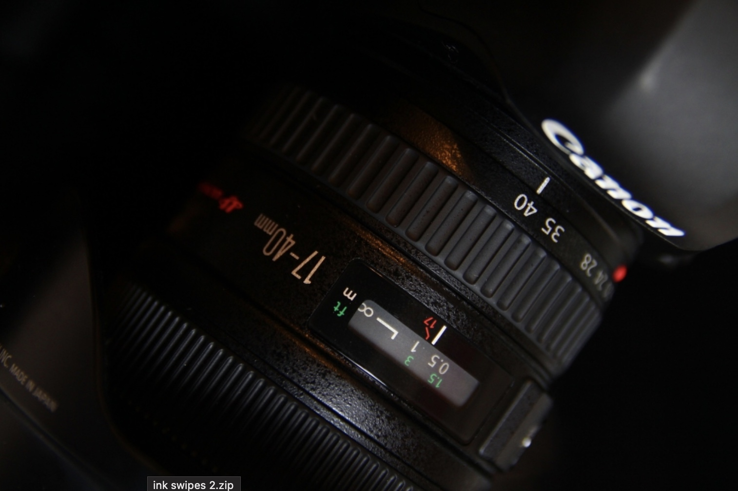 Canon 5D IV Close Up