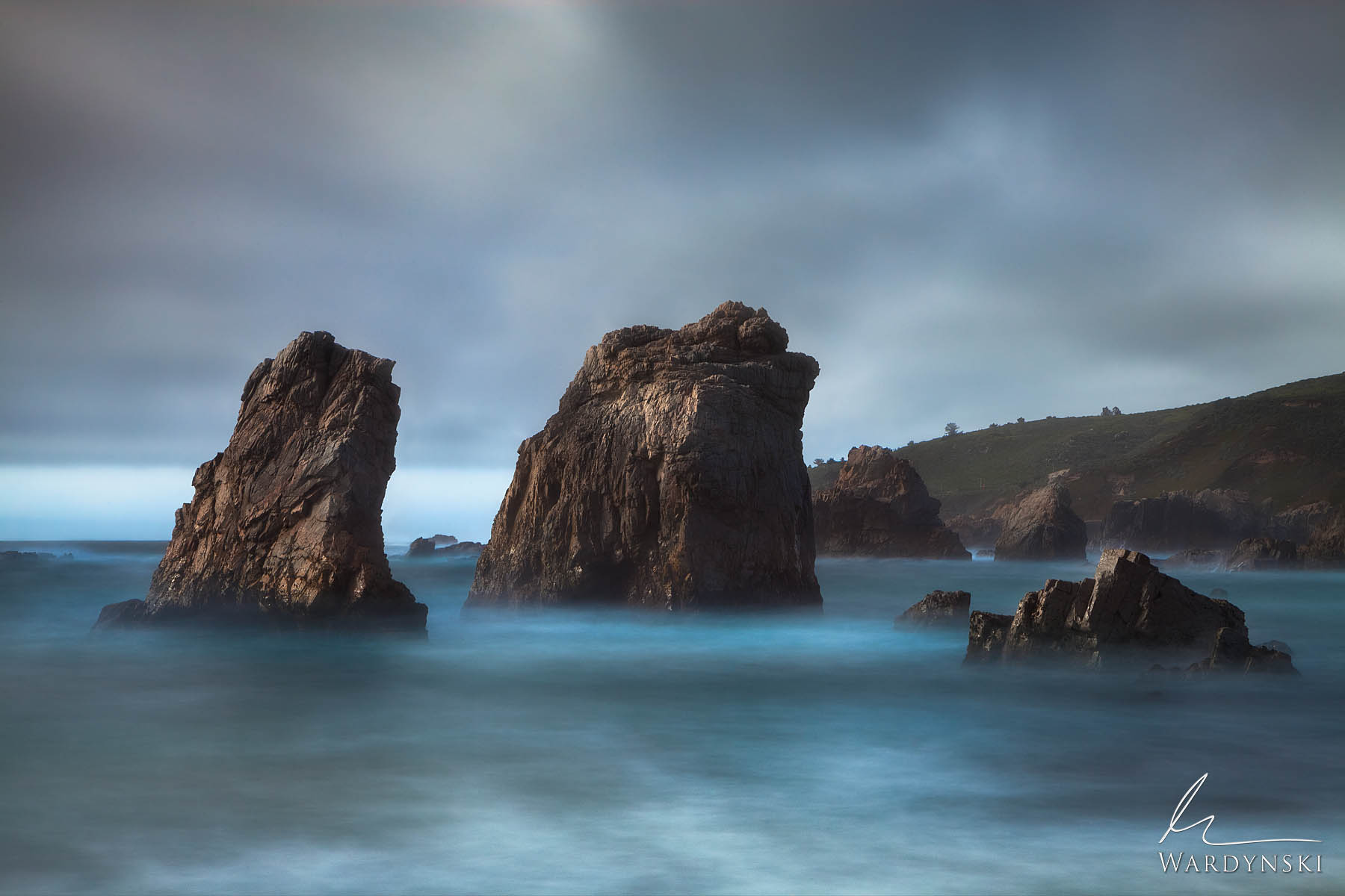 Fine Art Print | Limited Edition of 100  Like an old couple who've spent their entire lives together, these two rocks have experienced...