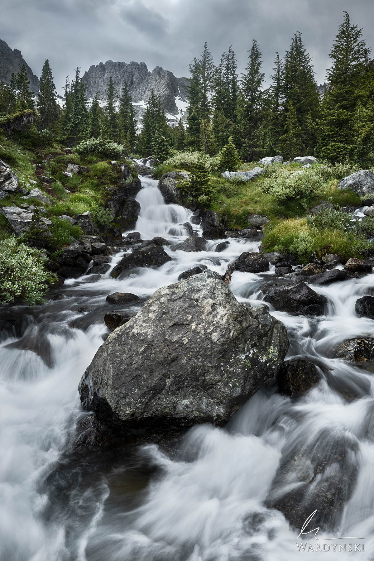 Fine Art Print | Limited Edition of 200  Alpine creeks are the life source for not only the Sierra Nevada mountains but for the...