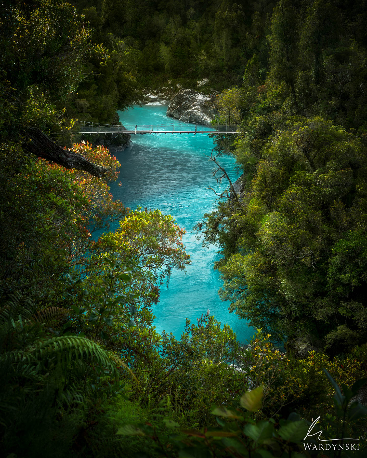 Fine Art Print | Limited Edition of 50  The Hokatika Gorge of New Zealand is one of the most impressive sights that you could...
