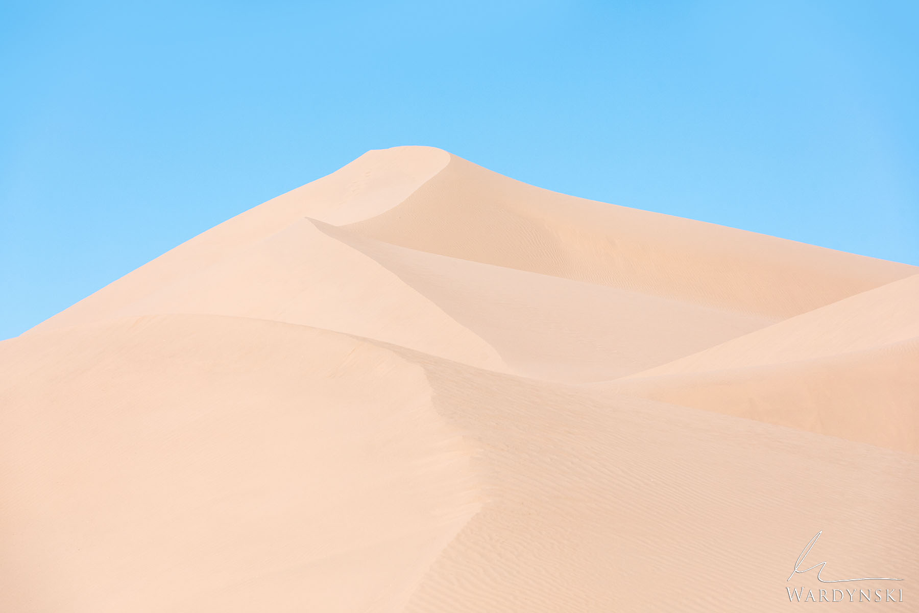 Fine Art Print | Limited Edition of 50  The Imperial Dunes of Southern California is the largest collection of sand dunes in...