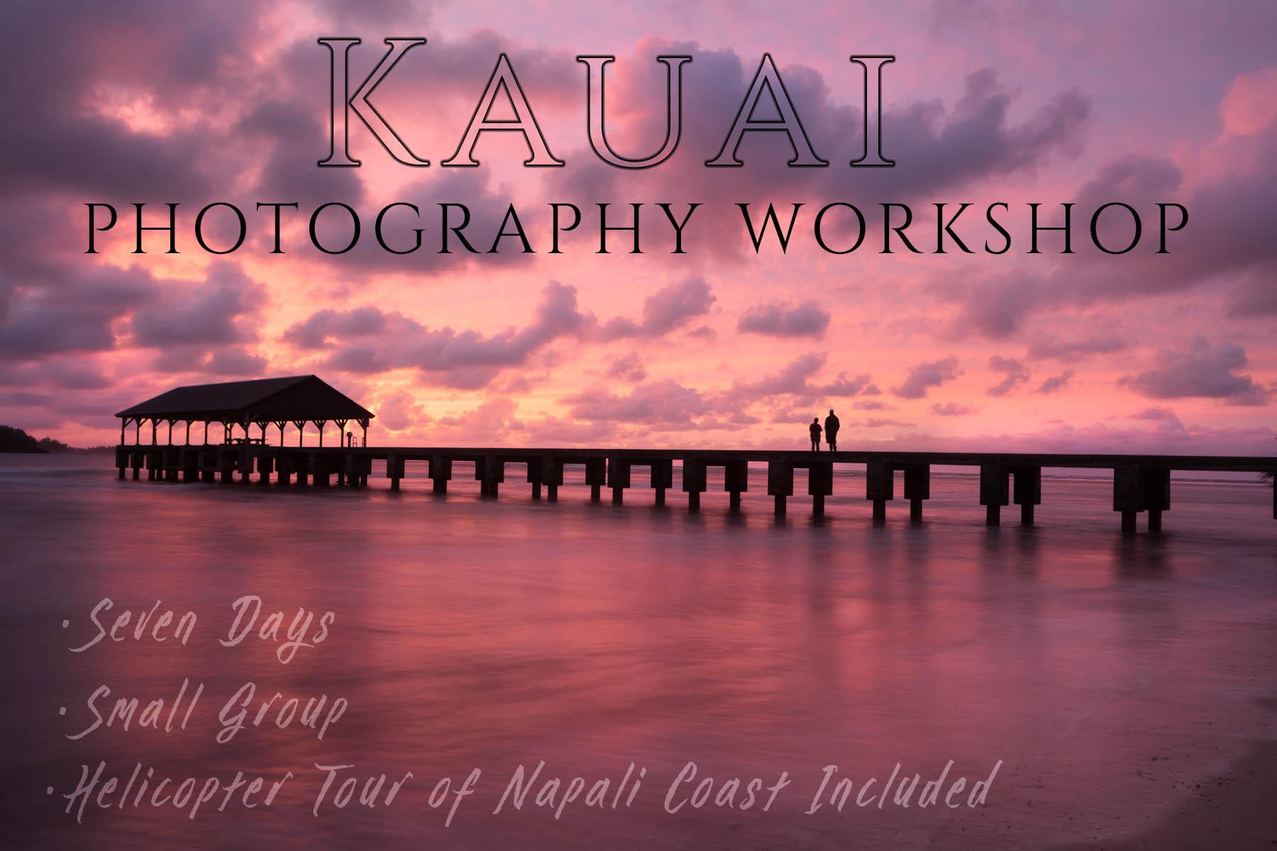 Kauai Landscape Photography workshop