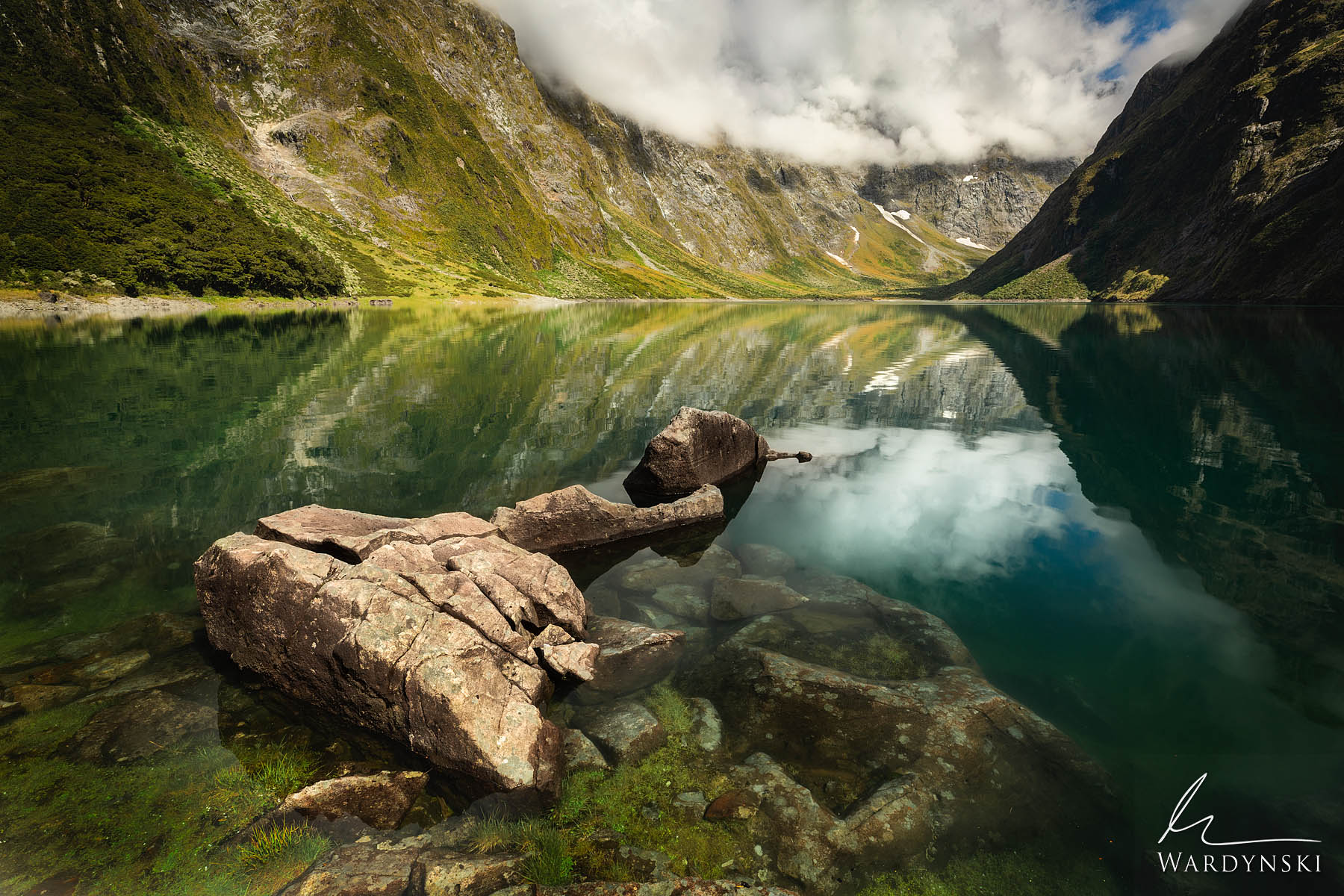 """Fine Art Print   Limited Edition of 50  New Zealand's nickname is """"Land of the Long White Cloud"""" The name is pretty fitting since..."""
