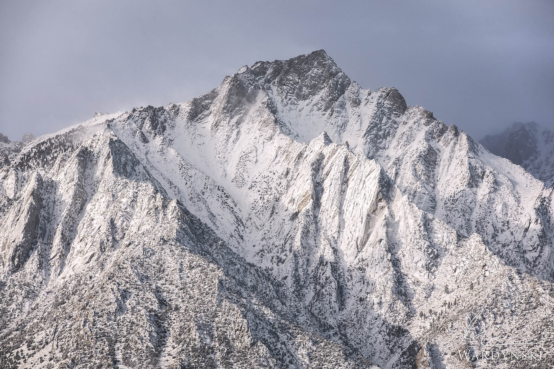 Fine Art Print | Limited Edition of 50  Lone Pine Peak sits at the southern end of the Eastern Sierra Nevada. While most people...