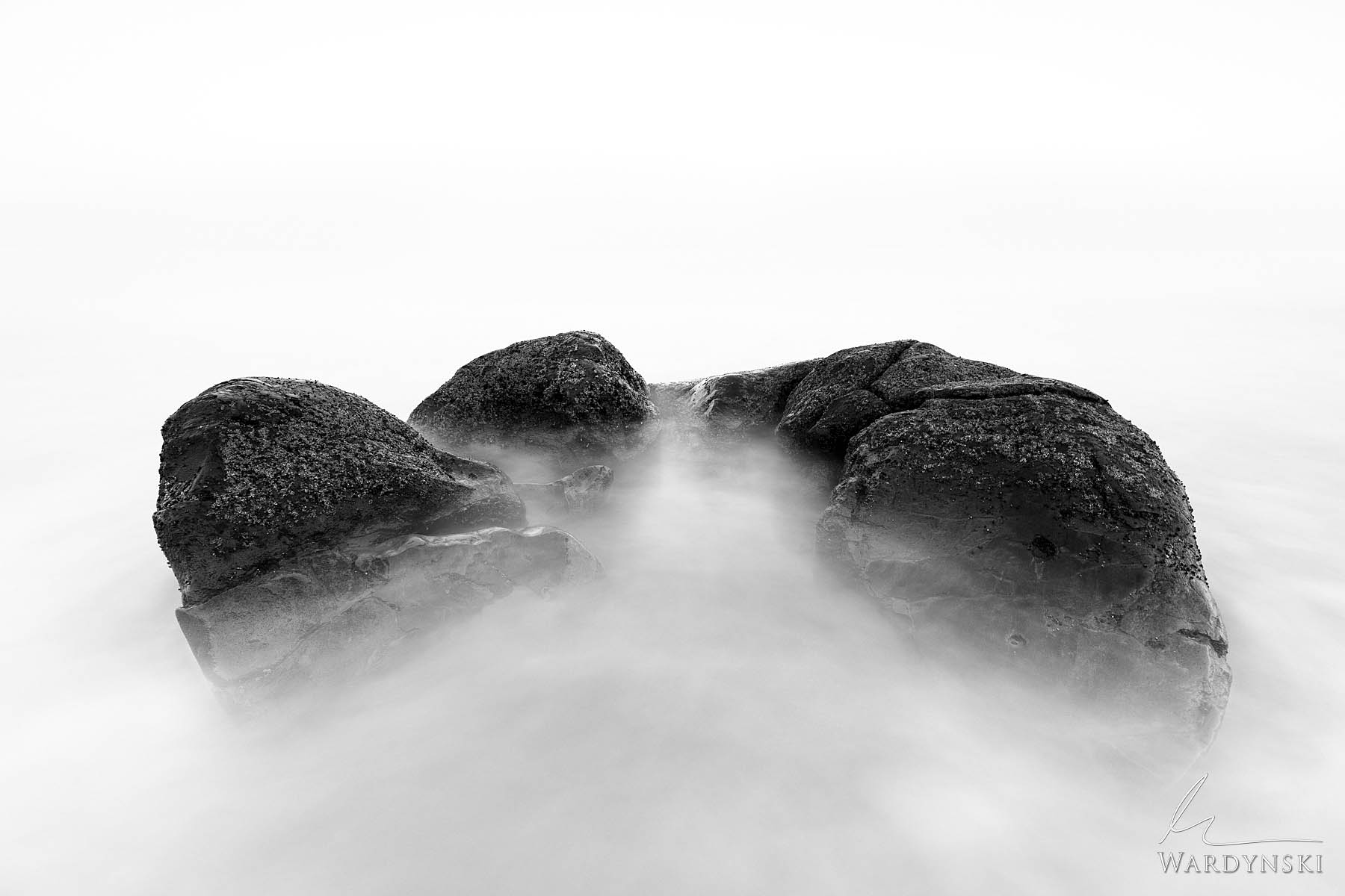 Black and White Fine Art Print | Limited Edition of 100  There is peace in the rocks and the sand. There is peace in the trees...