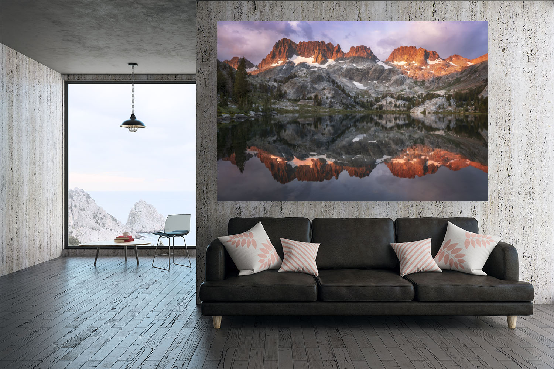 "Premier Series - Lumachrome Tru Life Acrylic Print on 3"" Float Mount"