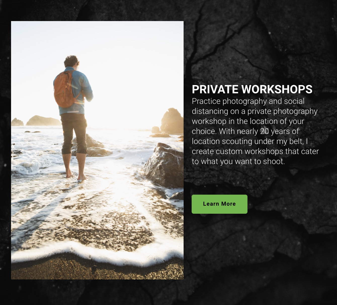Private Landscape Photography Workshops