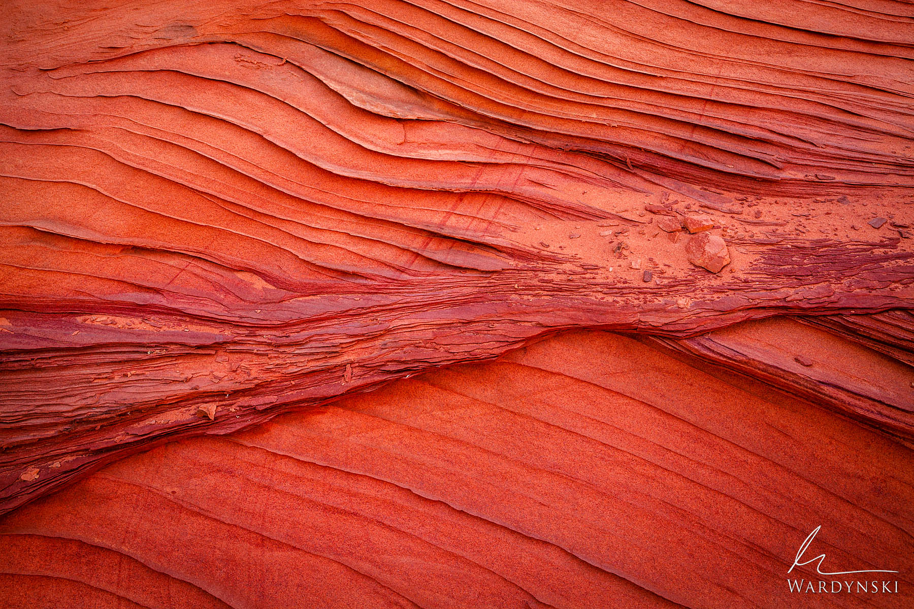 Fine Art Print of 25 | Limited Edition of 25  Paper thin fins protrude from the red sandstone of the Southwest. These sandstone...