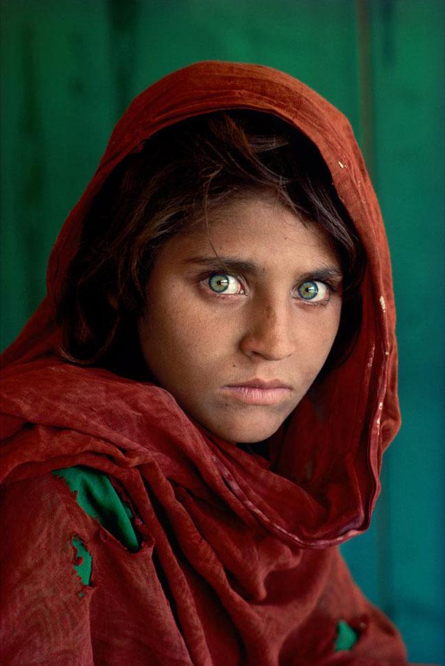 Steve McCurry Afghan Girl