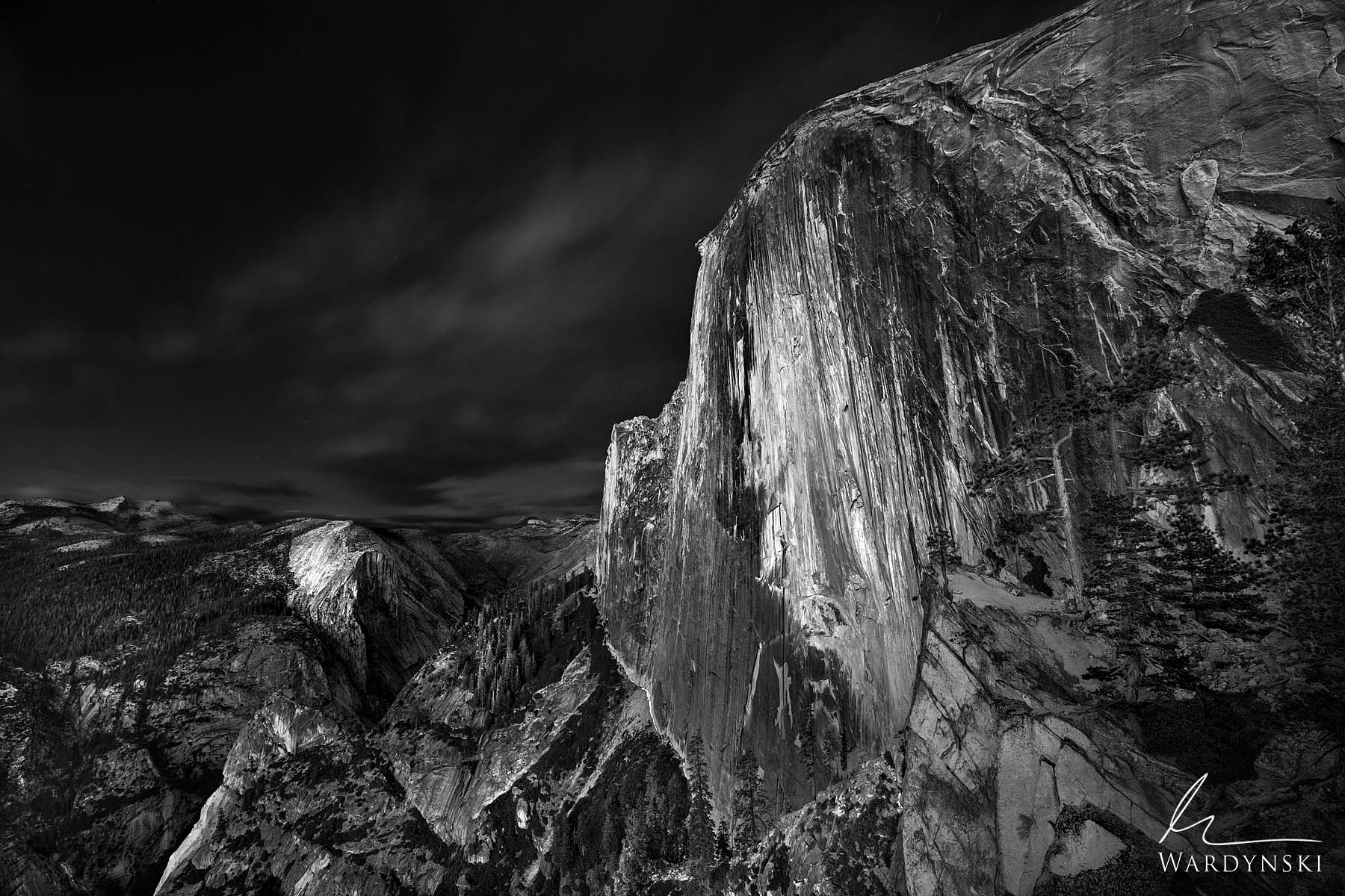 Fine Art Black and White Print | Limited Edition of 100  In 1927 Ansel Adams hiked to a little known and difficult to reach area...
