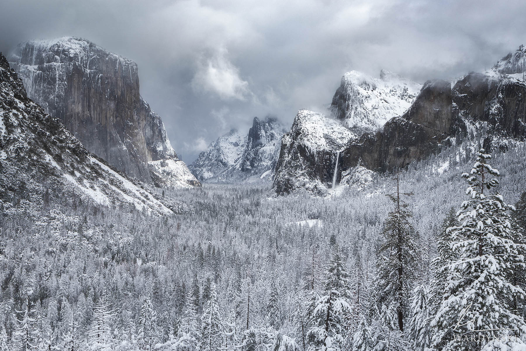 Fine Art Print | Limited Edition of 100  Tunnel view offers one of the most incredible views found in California or any national...