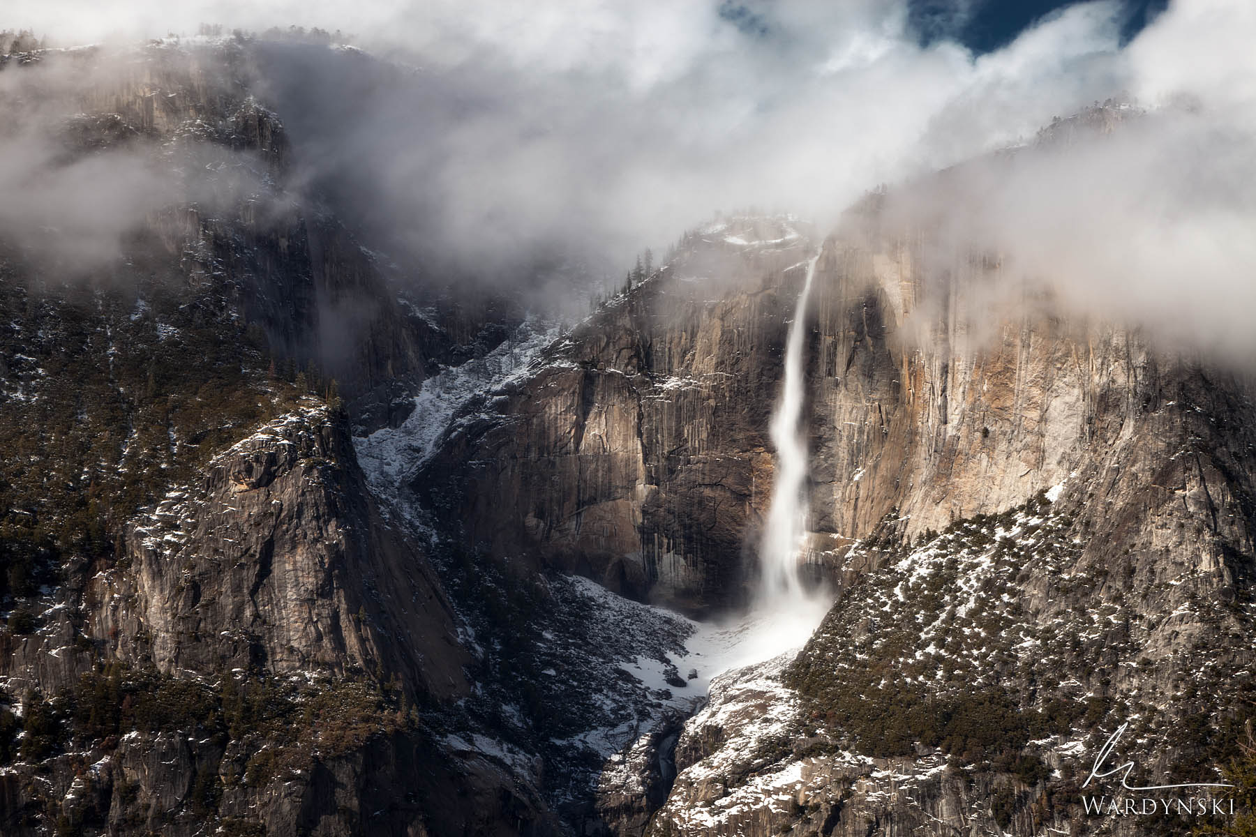 Fine Art Print | Limited Edition of 25  At 2,425 feet high, Yosemite Falls is the tallest waterfall in the continental US. The...