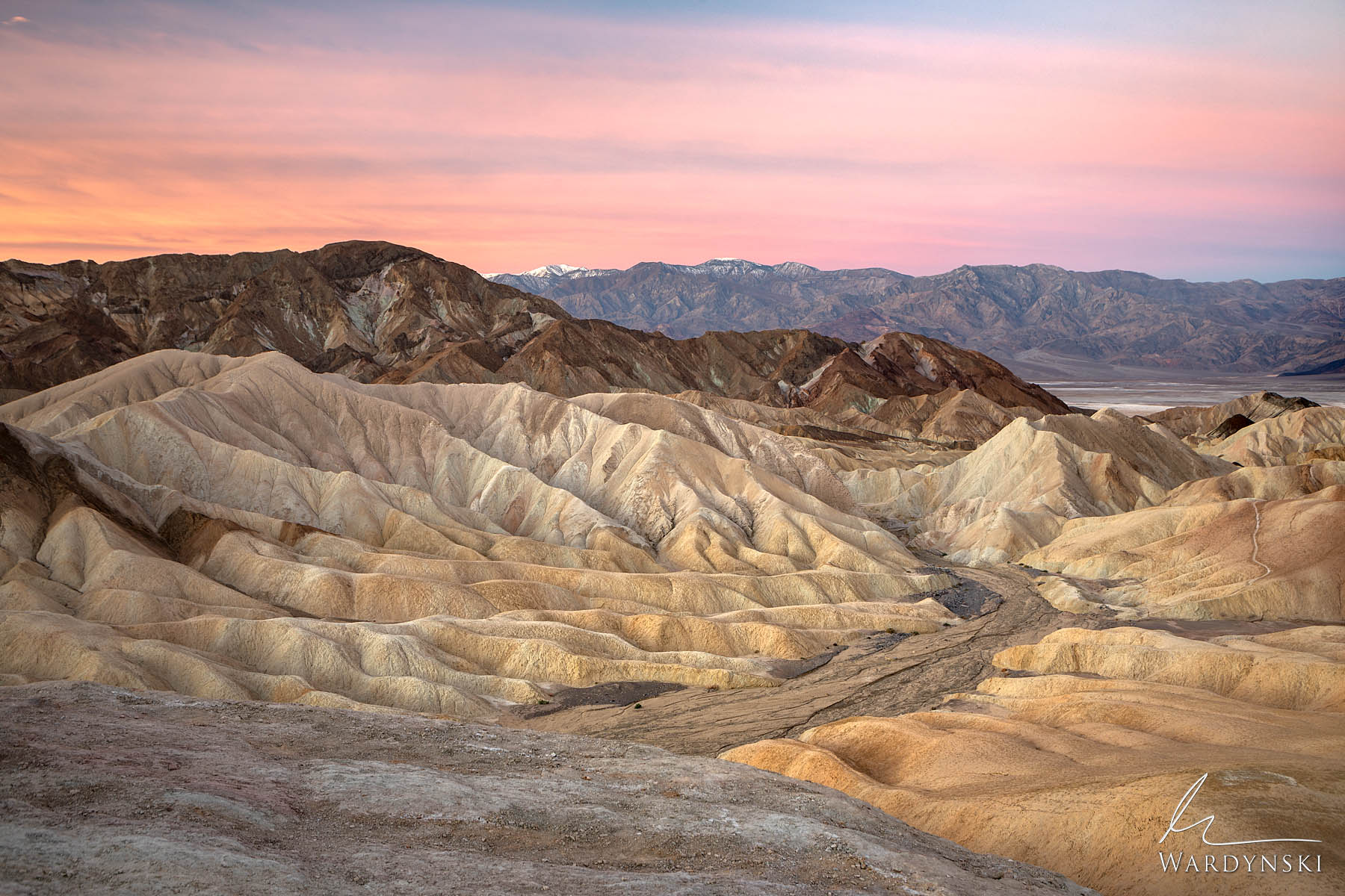 Fine Art Print | Limited Edition of 100  Zabriskie Point is one of those places that seems too unusual to be an actual place...
