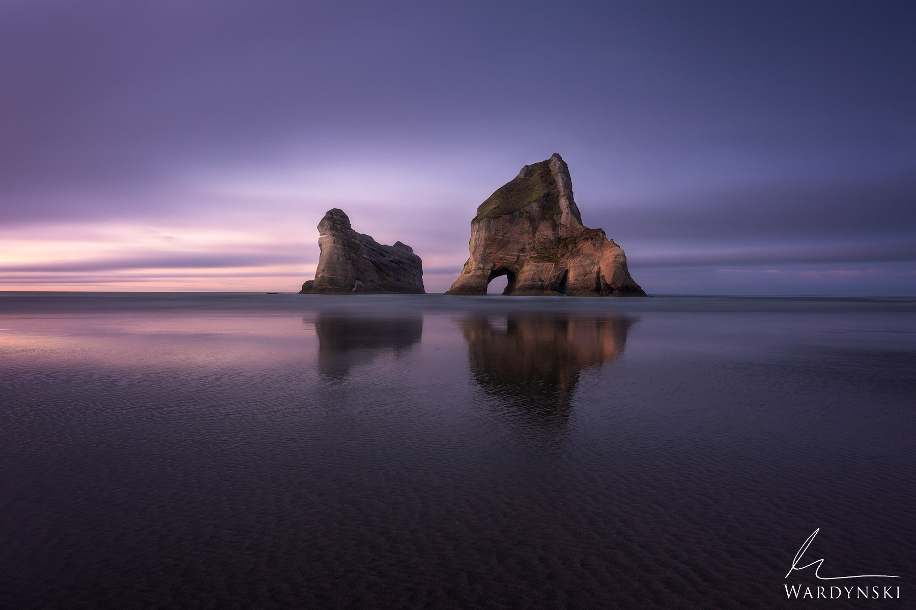 Fine Art Print | Limited Edition of 50  Wharariki Beach is the northern most part of the southern island of New Zealand. Just...